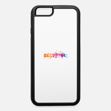 Splash Ink blots colorful lettering Colorful - iPhone 6 Case
