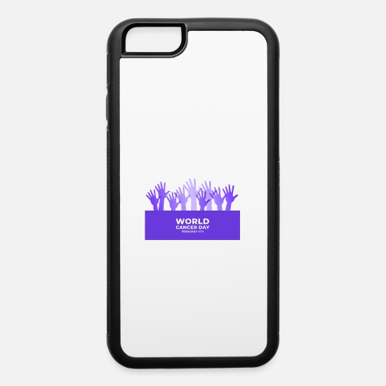 World's Best iPhone Cases - World Cancer Day - iPhone 6 Case white/black