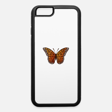 Butterfly Maori Monarch Butterfly Tribal Tattoo Gift Idea - iPhone 6 Case