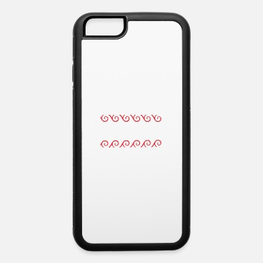Funny Yoga Peace Maori Polynesian Tribal Tattoo Gift Idea - iPhone 6 Case