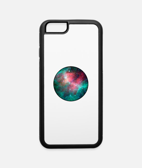 Nature iPhone Cases - Galaxy - Space - Stars - Cosmic - Art - Universe - iPhone 6 Case white/black