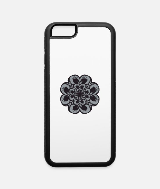 Pattern iPhone Cases - Decorative Design - iPhone 6 Case white/black