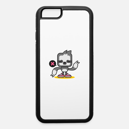 Game iPhone Cases - Just a sloth - iPhone 6 Case white/black