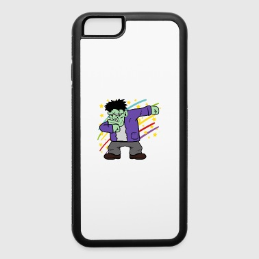 Dabbing Dab Halloween Disco Party Frankenstein - iPhone 6/6s Rubber Case