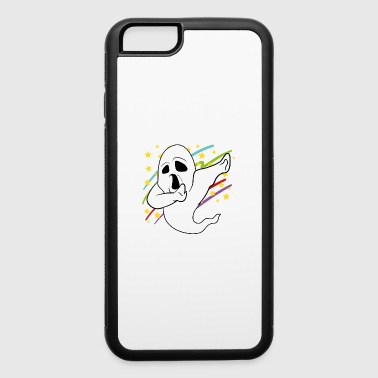 Dabbing Dab Ghost Halloween Disco Party Music - iPhone 6/6s Rubber Case