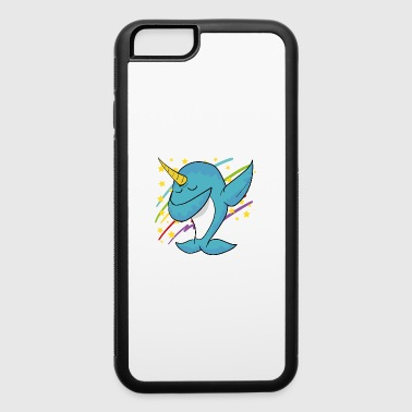 Dabbing Dab Narwhal Disco Party Music Dancing - iPhone 6/6s Rubber Case
