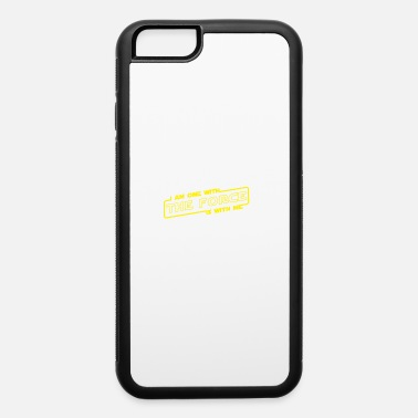 i am one with the force is with me - iPhone 6/6s Rubber Case