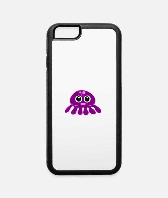 Jellyfish iPhone Cases - octopus - iPhone 6 Case white/black