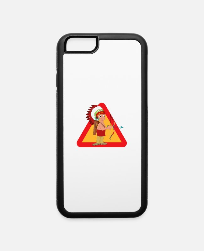 Tent iPhone Cases - Indian - iPhone 6 Case white/black