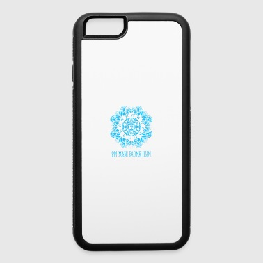 Mantra Yoga Meditation Buddhism - iPhone 6/6s Rubber Case