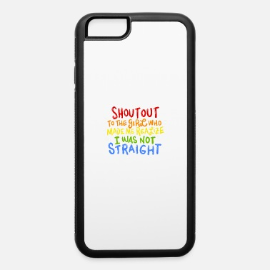 Out Womens Womens lesbian tee - Girl Made Me Realize - iPhone 6 Case