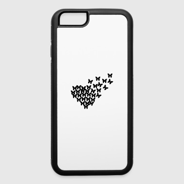 Heart With Wings butterfly - iPhone 6/6s Rubber Case