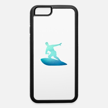 Wear Surfer Gift - Surf the Waves - Surfing Nation - iPhone 6/6s Rubber Case