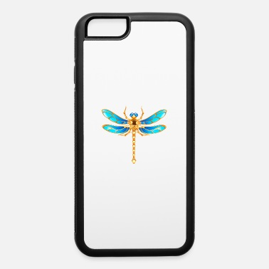 Gold jewelry dragonfly insect vip fun vector image - iPhone 6 Case