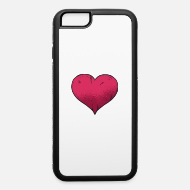 Warmly Cartoon heart love valentines day gift. - iPhone 6 Case