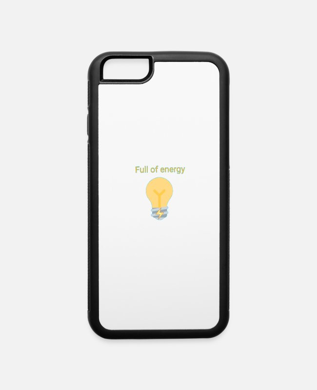 Young iPhone Cases - Energy - iPhone 6 Case white/black