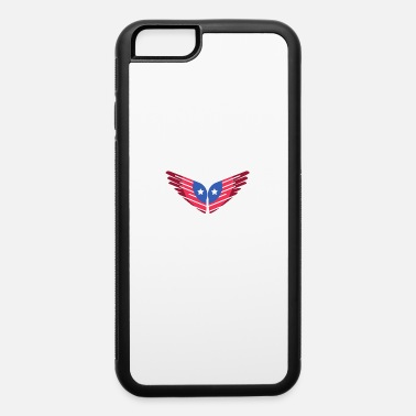 Wings Angel American Flag Angel Wings & Angel wing in the colo - iPhone 6 Case
