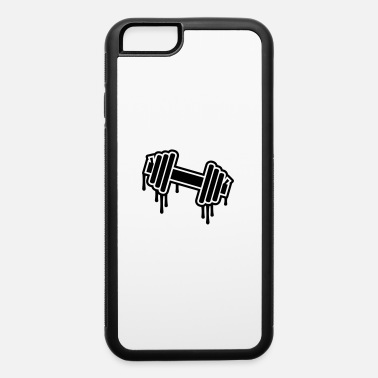 Dumbbell Dumbbell Graffiti - iPhone 6 Case