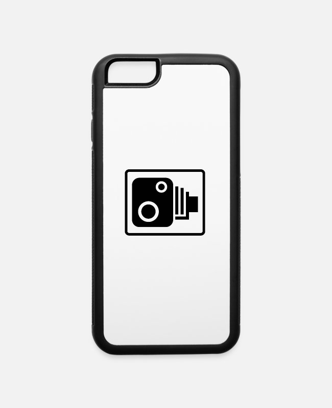 Road Cameras iPhone Cases - camera - iPhone 6 Case white/black