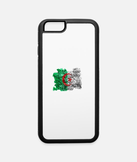 Conspiracy iPhone Cases - Algeria Vintage Flag - iPhone 6 Case white/black