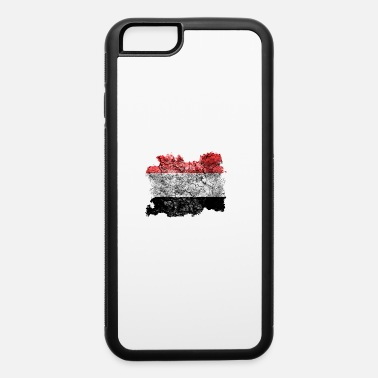 Yemen Yemen Vintage Flag - iPhone 6/6s Rubber Case