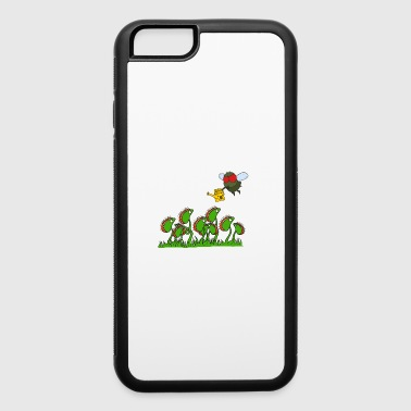 Fly Revenge Insect Weed Gift Comic - iPhone 6/6s Rubber Case