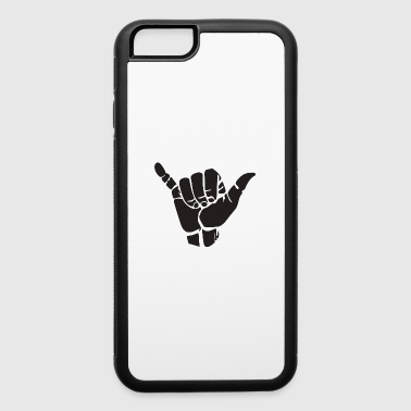 Shield Hand ghost - iPhone 6/6s Rubber Case