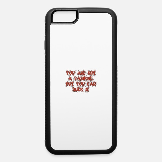 Halloween iPhone Cases - Suck it - iPhone 6 Case white/black