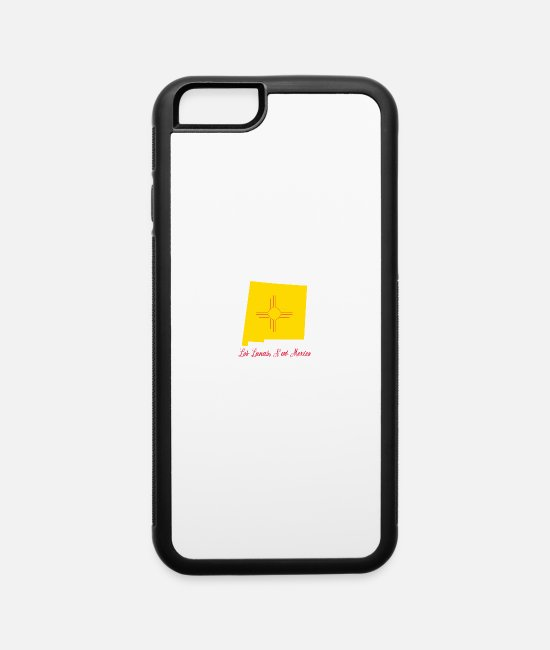 New iPhone Cases - Los Lunas New Mexico - iPhone 6 Case white/black
