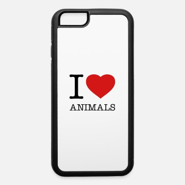 I Love Anime I LOVE ANIMALS - iPhone 6 Case