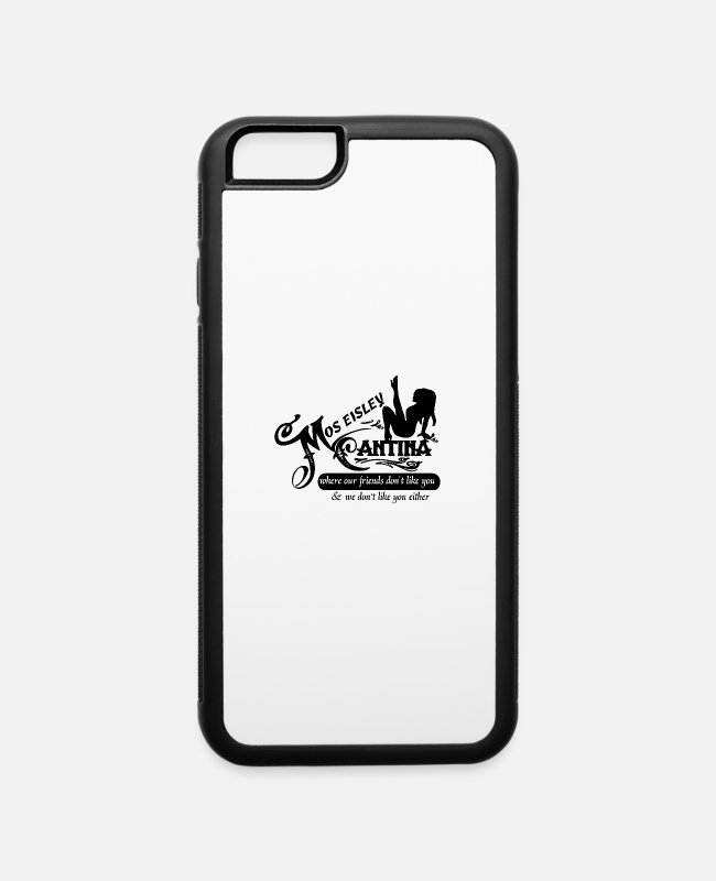 Chewbacca iPhone Cases - MOS Where Our Friend - iPhone 6 Case white/black