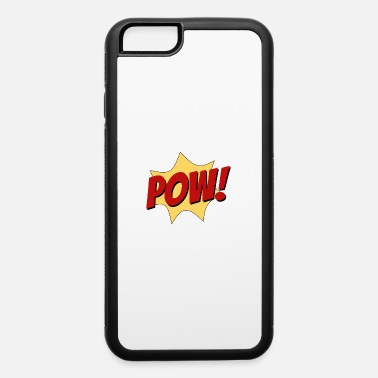 Sound Picture pow superhero fight comic sound funny cool gift - iPhone 6 Case