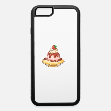 Cool Retro Vintage Grunge Style Ice cream - iPhone 6/6s Rubber Case