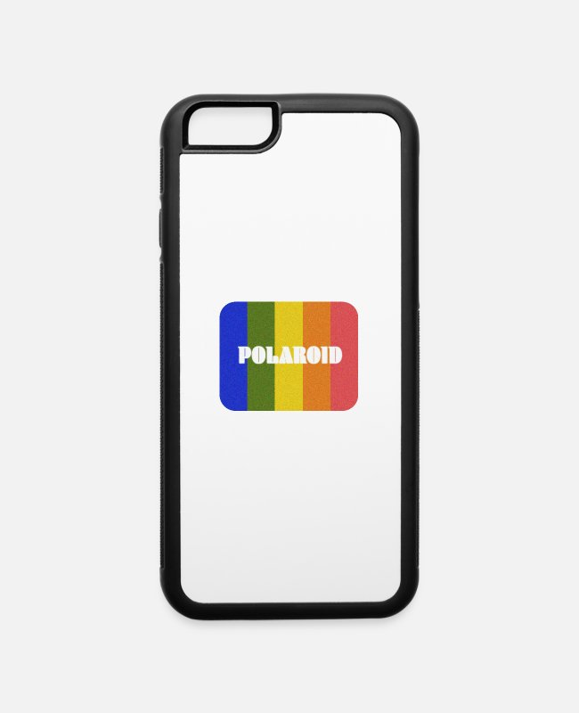 Polaroid iPhone Cases - Polaroid - iPhone 6 Case white/black