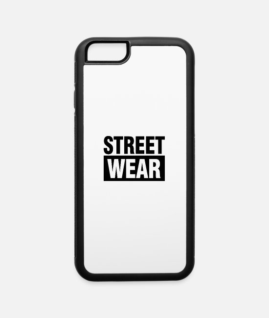 Fighter iPhone Cases - Street Wear - iPhone 6 Case white/black