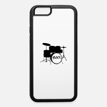Tambours Rock Drummer - Drums - Rock and Roll - Band - iPhone 6 Case