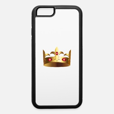 Koning Golden crown royal VIP King monarch vector image - iPhone 6/6s Rubber Case