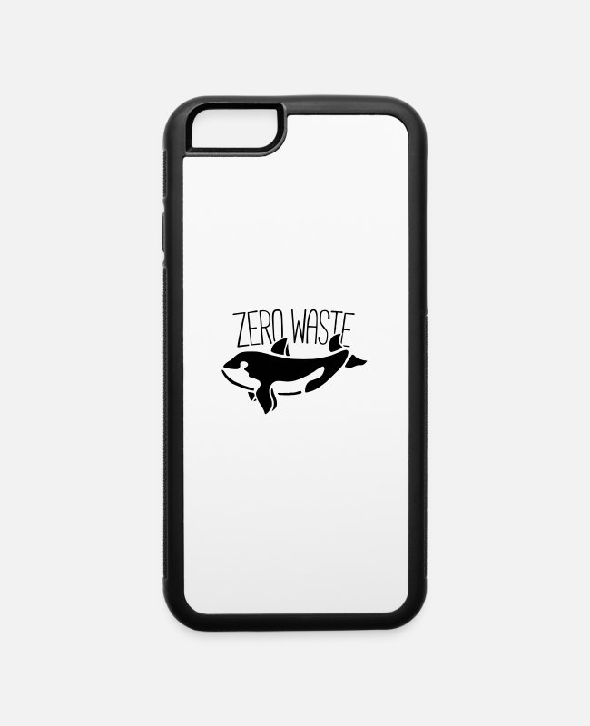 Eco iPhone Cases - Zero waste - iPhone 6 Case white/black