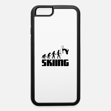 Boarders Evolution Ski Skiing Freestyle Jump Winter Sports - iPhone 6/6s Rubber Case
