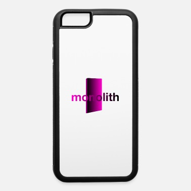Future monolith pink - iPhone 6/6s Rubber Case