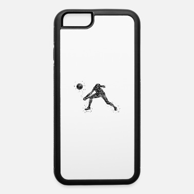 Girls Volleyball Volleyball girl, watercolor volleyball girl - iPhone 6 Case
