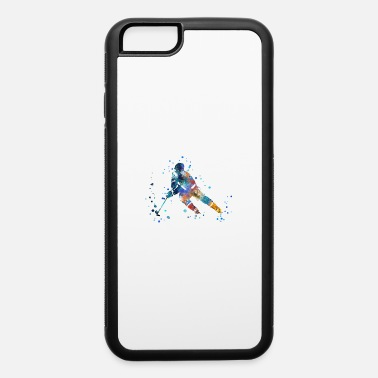 Hockey Player Hockey player, watercolor Hockey player - iPhone 6 Case