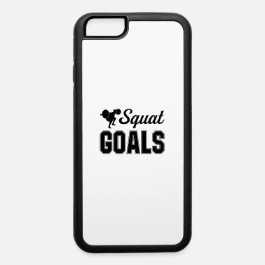 Squat Squat Goals - iPhone 6/6s Rubber Case