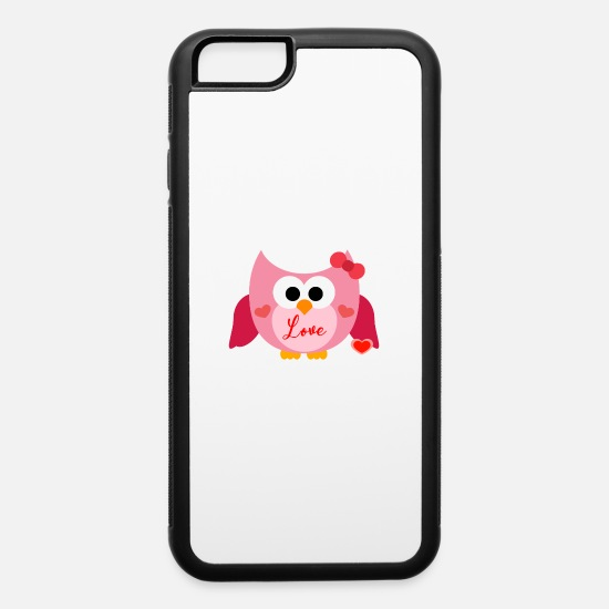 Love iPhone Cases - happy valentines day - iPhone 6 Case white/black