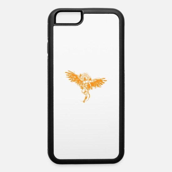 Religious iPhone Cases - Warrior angel - iPhone 6 Case white/black