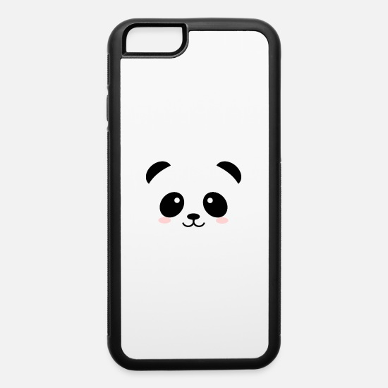 Panda iPhone Cases - CUTE PANDA - iPhone 6 Case white/black