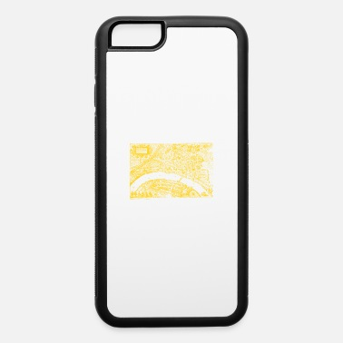 Rhine Basel silhouette from 1615 yellow - iPhone 6 Case