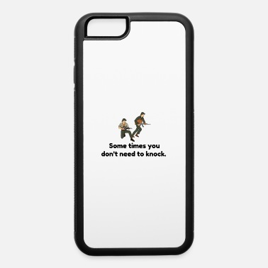 Robber Don t Need To Knock - iPhone 6/6s Rubber Case