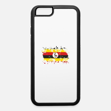 Rich Uganda flag ink - iPhone 6/6s Rubber Case
