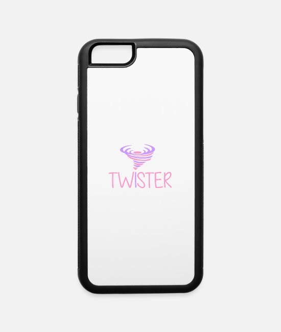 Storm iPhone Cases - Twister - Tornado - Storm - Cyclone - Hurrican - iPhone 6 Case white/black